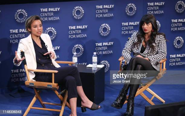 Isobel Yeung Vice on HBO Correspondent/Producer and Jameela Jamil actress activist founder of I_Weigh attend the VICE on HBO Emmy FYC Event on May 10...