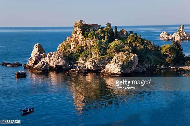 Isola Bella island, Taormina, Sicily, Italy