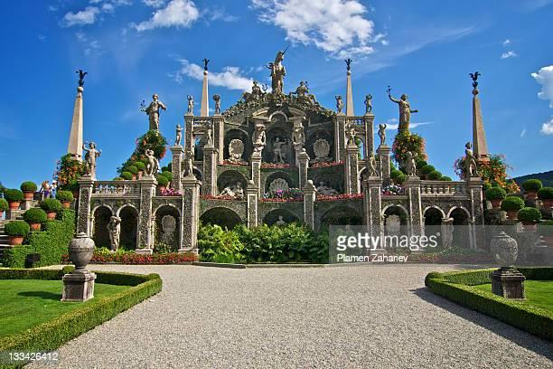 isola bella, lago maggiore, piemonte, italia - stresa stock pictures, royalty-free photos & images