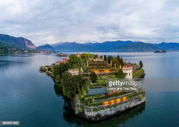 isola bella - stresa stock pictures, royalty-free photos & images