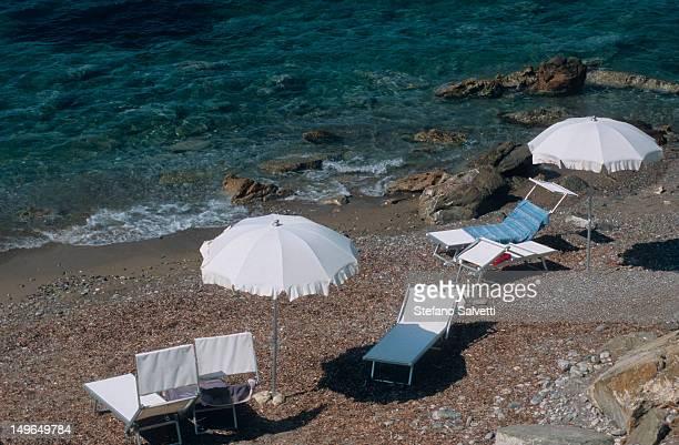 Isola d'Elba, scorcio di spiaggia a Cavo