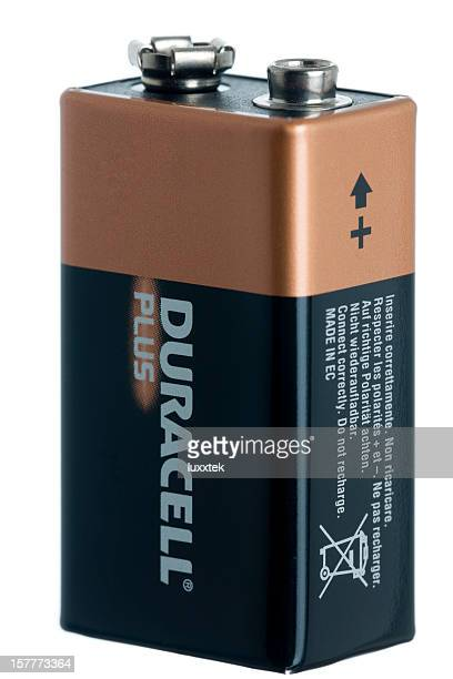 Isolated 9 V battery