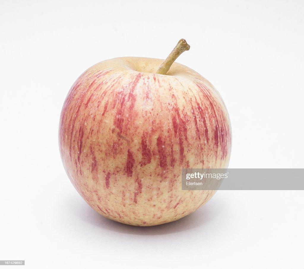 Isolated Apple : Stock Photo