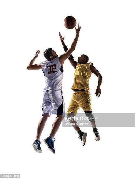 isolated basketball player - sportsperson stock pictures, royalty-free photos & images