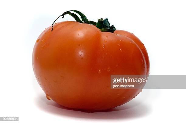 isolated beef tomato
