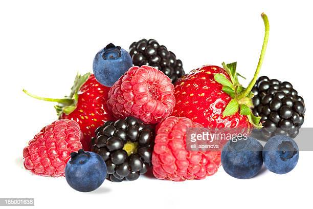 Isolated berries