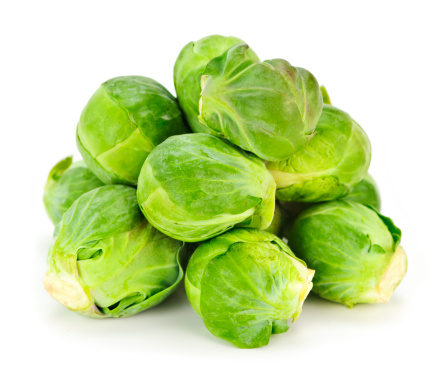 Isolated brussels sprouts 114335783