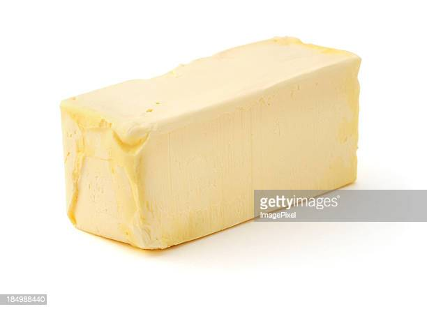 Isolated Butter Stick