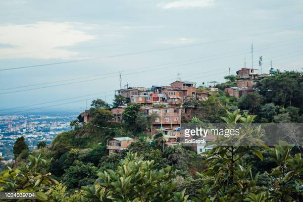 isolated colombian village - valle del cauca stock pictures, royalty-free photos & images