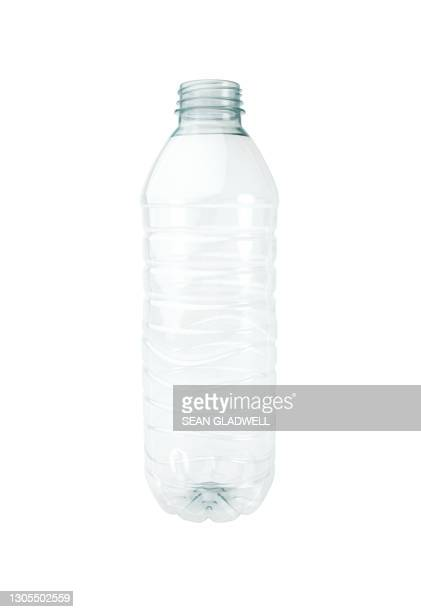 isolated empty water bottle - bottle stock pictures, royalty-free photos & images