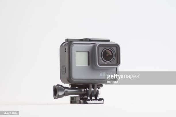 Isolated GoPro Hero 5 Black Full HD Action Camera