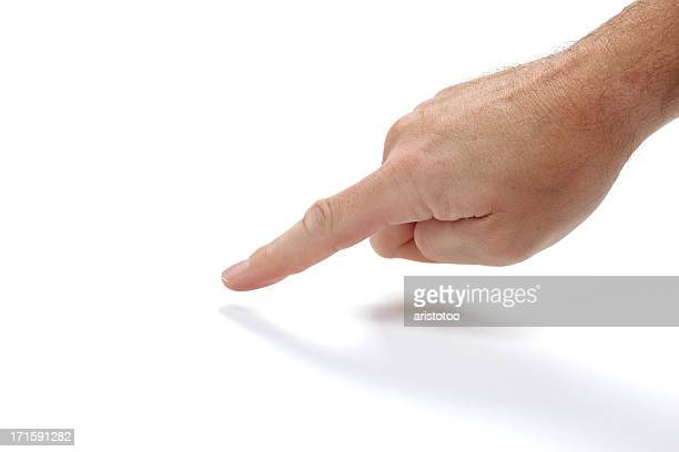 Isolated Hand with Pointing Finger