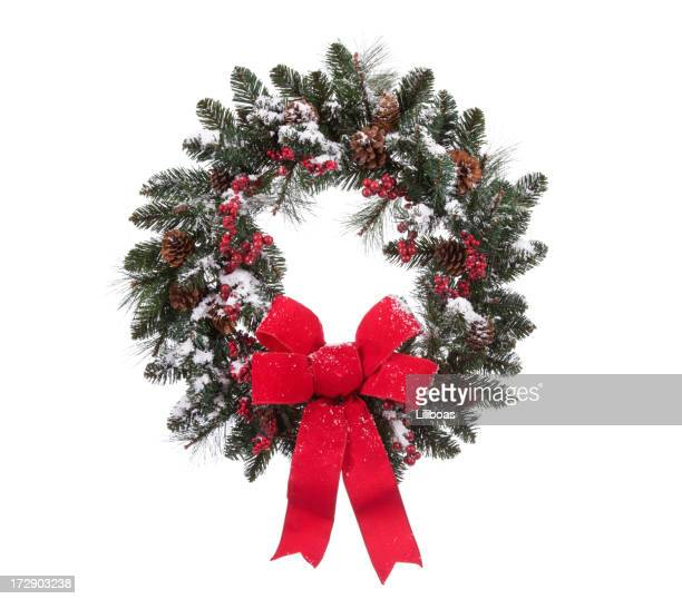 Isolated Holiday Wreath (XXL)