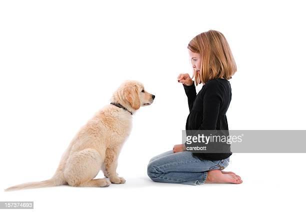 Mädchen Unterricht Sit