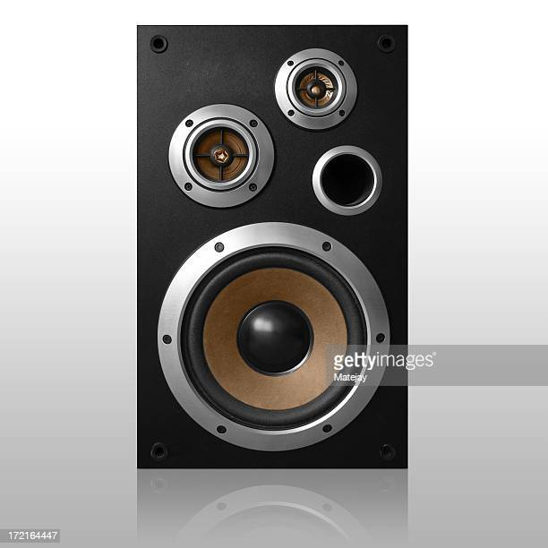 Isolated loudspeaker - Front shot   *clipping path included*