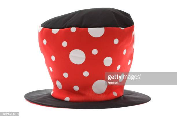 Isolated mad hatter hat