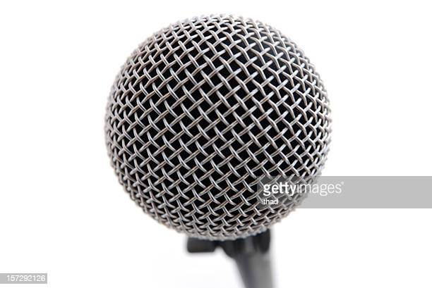 Isolated Microphone, Close and Up Front