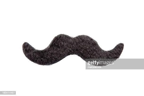 isolated mustache - fake stock pictures, royalty-free photos & images