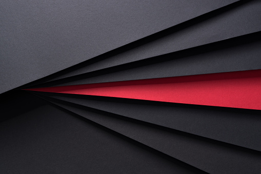 Isolated Red Paper - gettyimageskorea