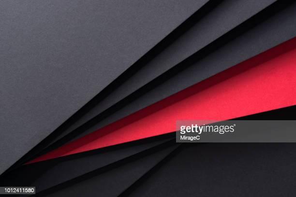 isolated red paper - afiado - fotografias e filmes do acervo