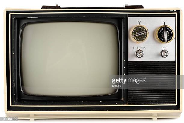 isolated retro tv - television show stock pictures, royalty-free photos & images