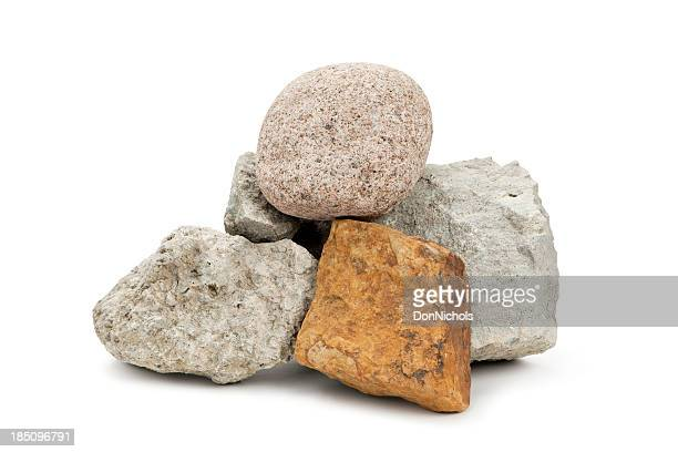 isolated rocks - rock object stock pictures, royalty-free photos & images