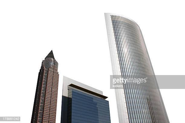Isolierte Wolkenkratzer