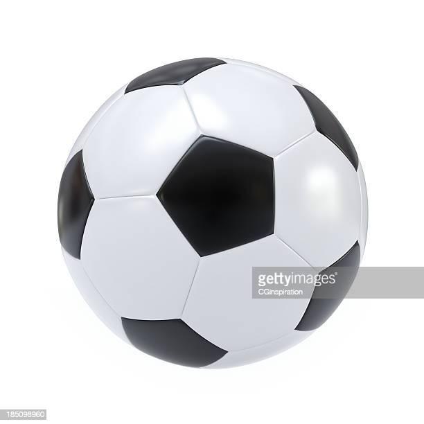 aislado de fútbol - pelota fotografías e imágenes de stock