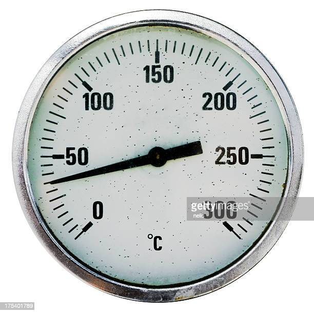 isolated thermometer