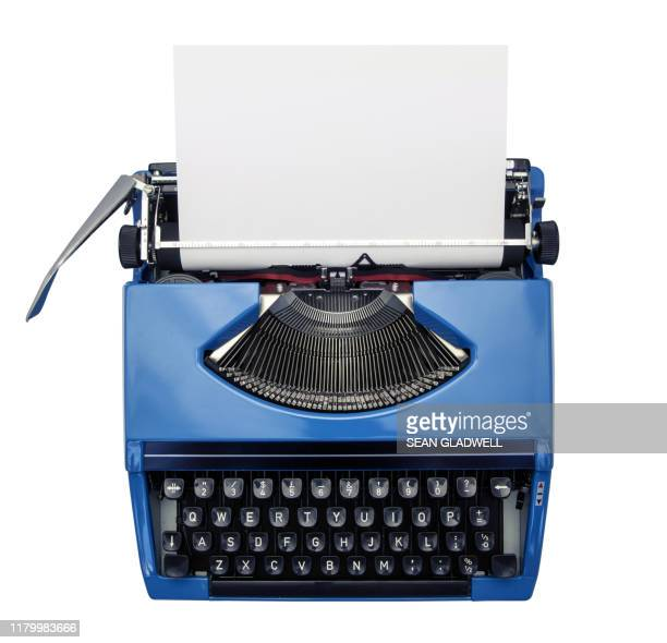 isolated typewriter - typewriter stock pictures, royalty-free photos & images