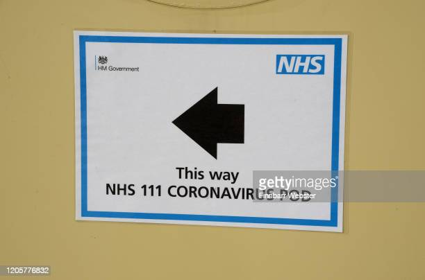 Isolation Pods installed at Dorset County Hospital for patients suspected of having Coronavirus on February 12 2020 in Dorchester Dorset Anyone...