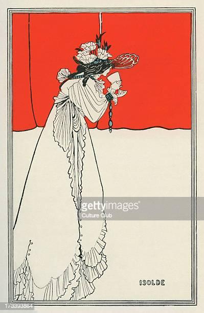Isolde by Aubrey Beardsley from the opera Tristan und Isolde by Richard Wagner 1865