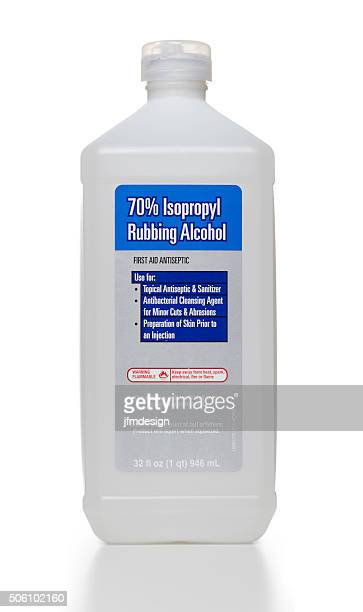 Isopropyl Rubbing Alcohol bottle