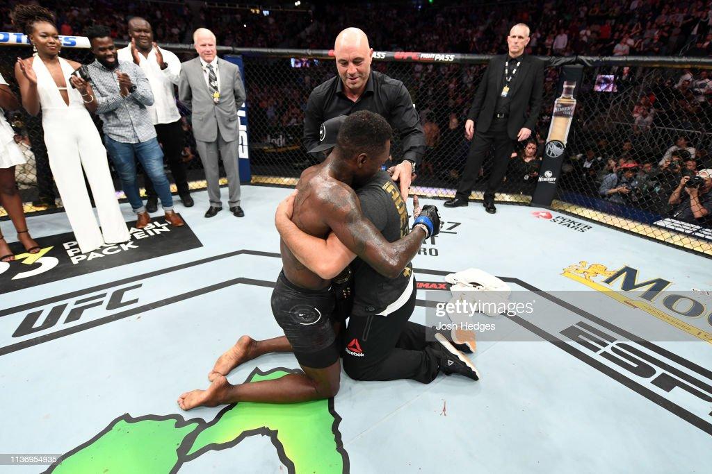 UFC 236: Gastelum v Adesanya : ニュース写真