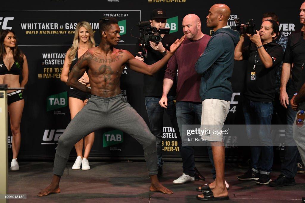 UFC 234: Weigh-ins : Fotografía de noticias