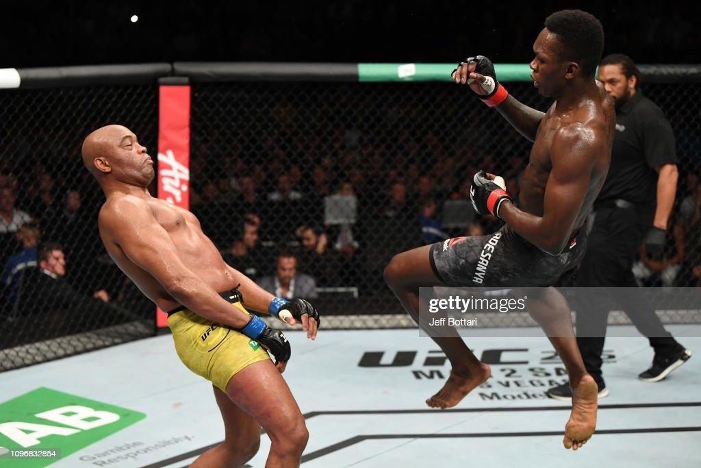 UFC 234: Adesanya v Silva : ニュース写真