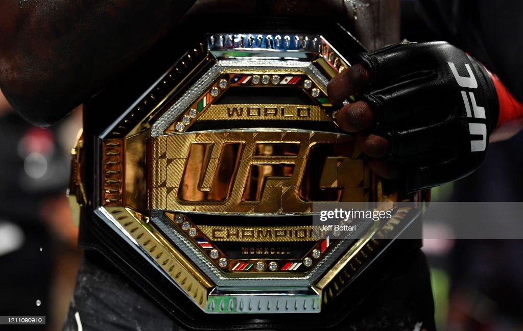 UFC 248: Adesanya v Romero : News Photo