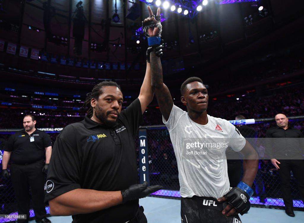 UFC 230: Brunson v Adesanya : News Photo