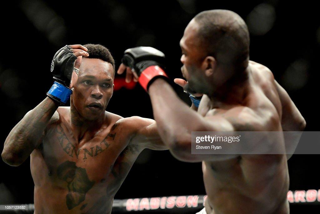 UFC 230 Brunson v Adesanya : News Photo