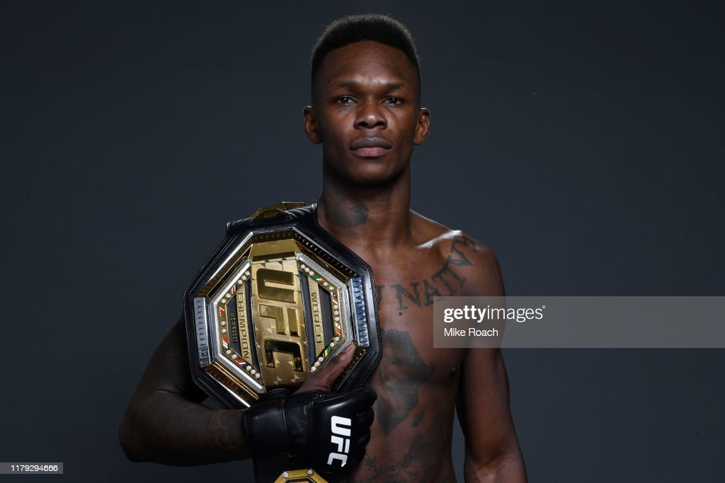 UFC 243: Whittaker v Adesanya : Nieuwsfoto's