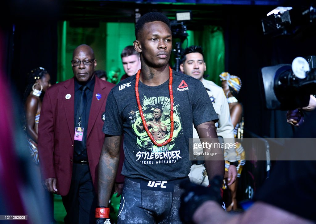 UFC 248: Adesanya v Romero : News Photo