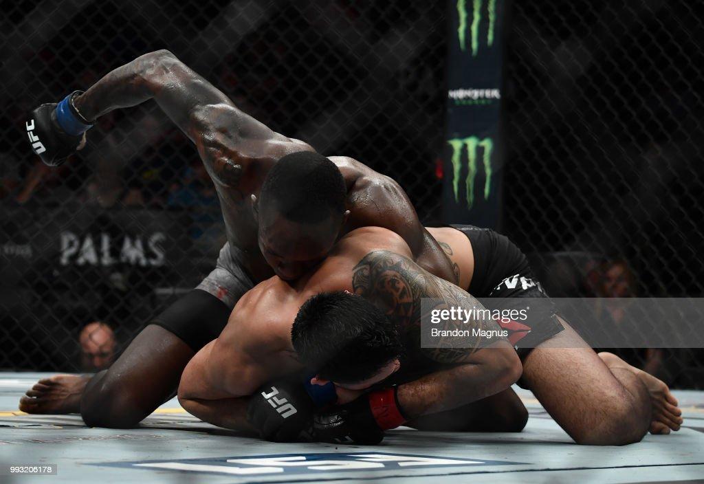 The Ultimate Fighter Finale: Tavares v Adesanya : News Photo