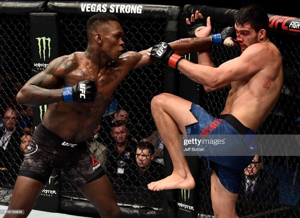 UFC 221: Wilkinson v Adesanya : News Photo