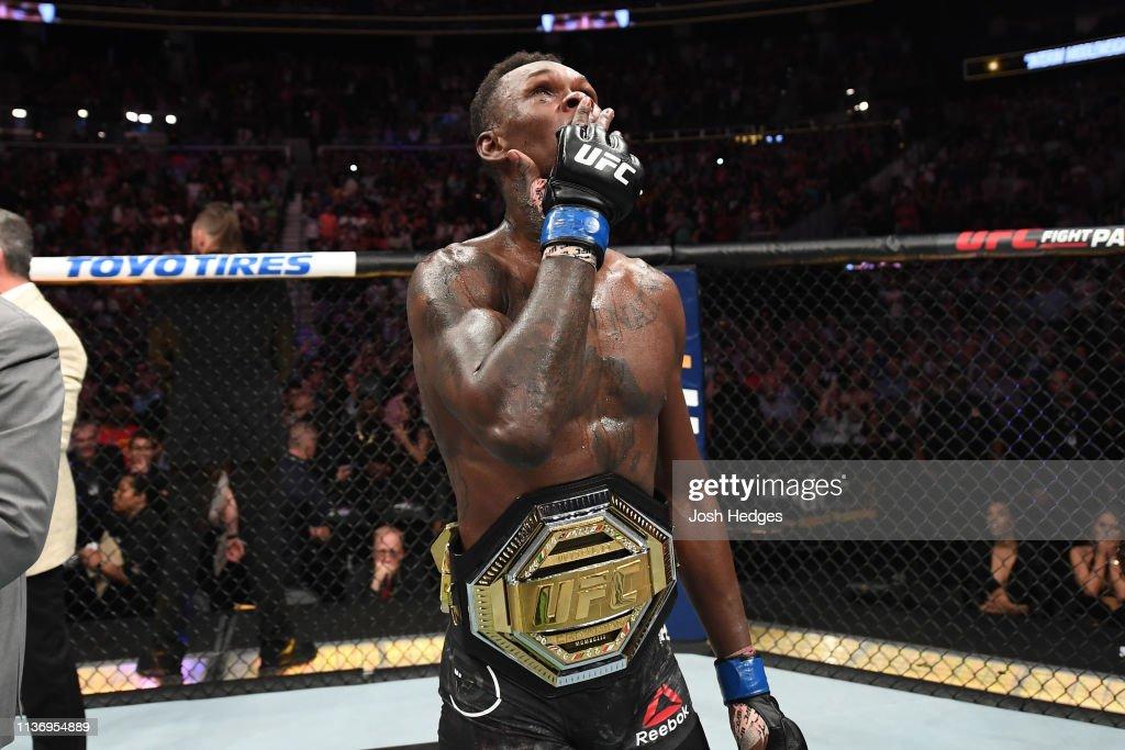 UFC 236: Gastelum v Adesanya : News Photo