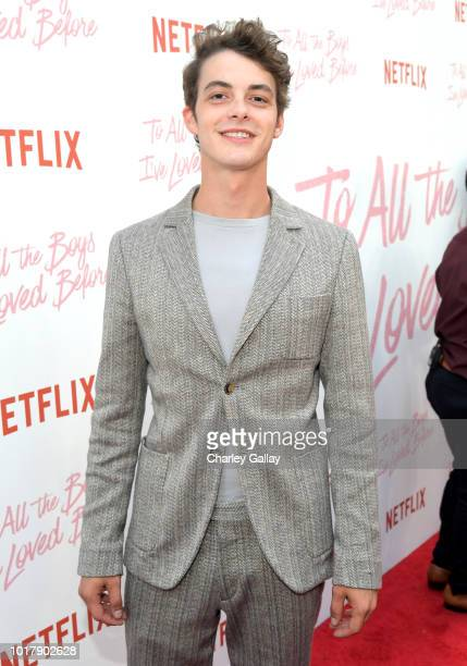 Israel Broussard attends Netflix's 'To All the Boys I've Loved Before' Los Angeles Special Screening at Arclight Cinemas Culver City on August 16...