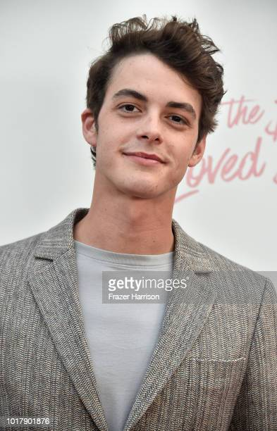 Israel Broussard attends the Screening Of Netflix's To All The Boys I've Loved Before Arrivals at Arclight Cinemas Culver City on August 16 2018 in...