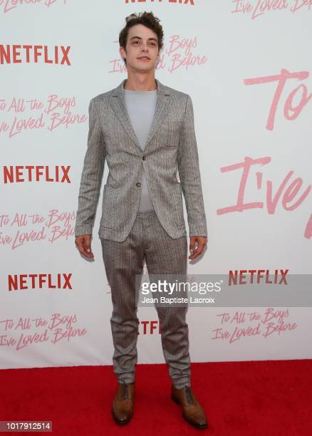 Israel Broussard attends the Screening Of Netflix's 'To All The Boys I've Loved Before' Arrivals at Arclight Cinemas Culver City on August 16 2018 in...