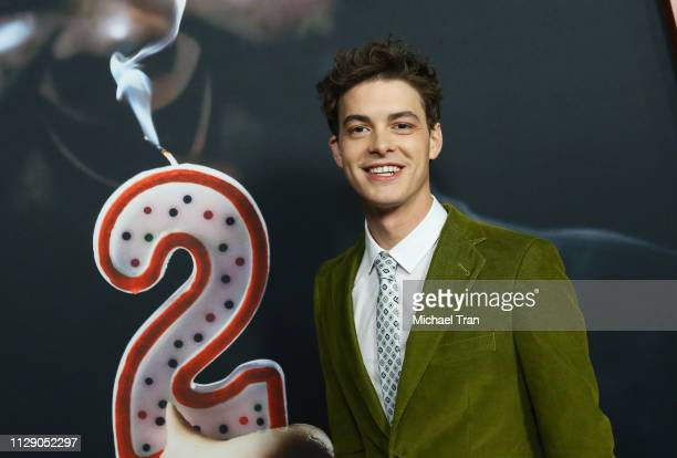 """Israel Broussard attends the Universal Pictures special screening of Happy Death Day 2U"""" held at ArcLight Hollywood on February 11, 2019 in..."""