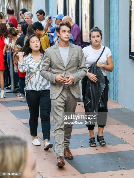 Israel Broussard is seen on August 16 2018 in Los Angeles California