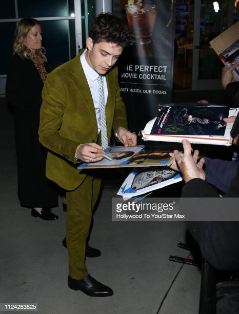 Israel Broussard is seen on February 11 2019 in Los Angeles CA